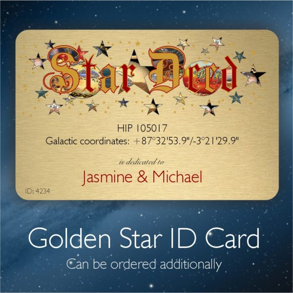 Star ID Card - name a double star
